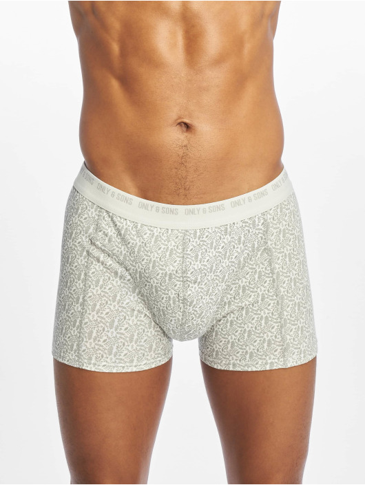 Only & Sons Boksershorts onsNicolays 3-Pack svart