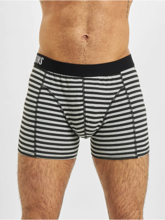 Only & Sons Boxershorts onsJan Stripe 3-Pack weiß