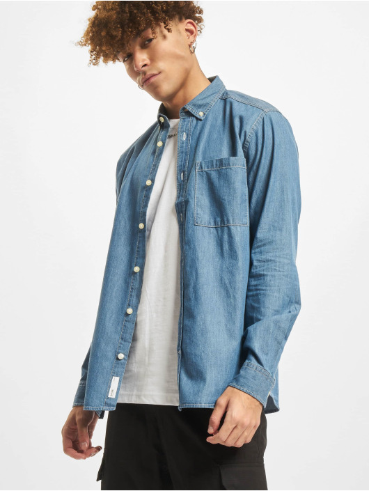 Only & Sons Camicia Onsnoel Denim blu