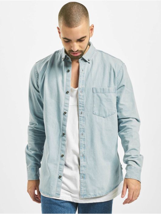 Only & Sons Camisa Onsbasic azul