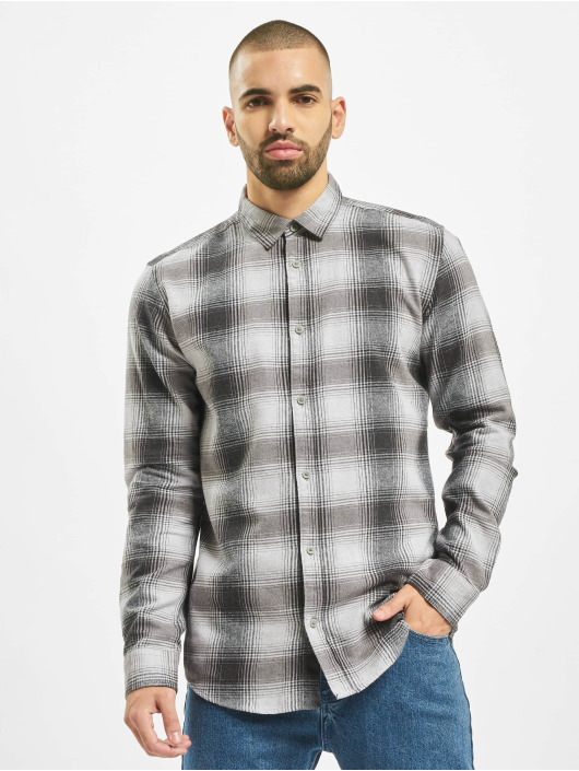 Only & Sons Camisa Onsflannel gris