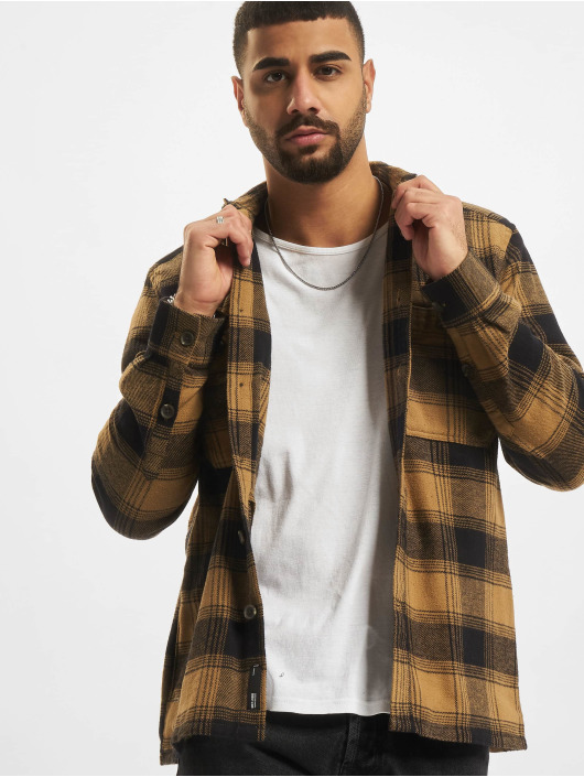 Only & Sons Camisa Onsnadal marrón