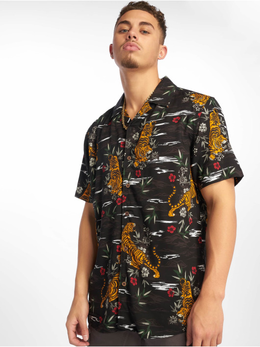 Only & Sons Camisa onsPilas Tiger negro