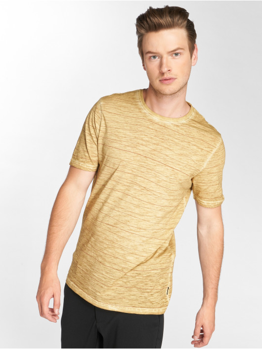 Only & Sons Camiseta onlsNelson Striped amarillo