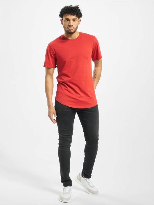 Only & Sons Camiseta onsMatt Life Longy rojo