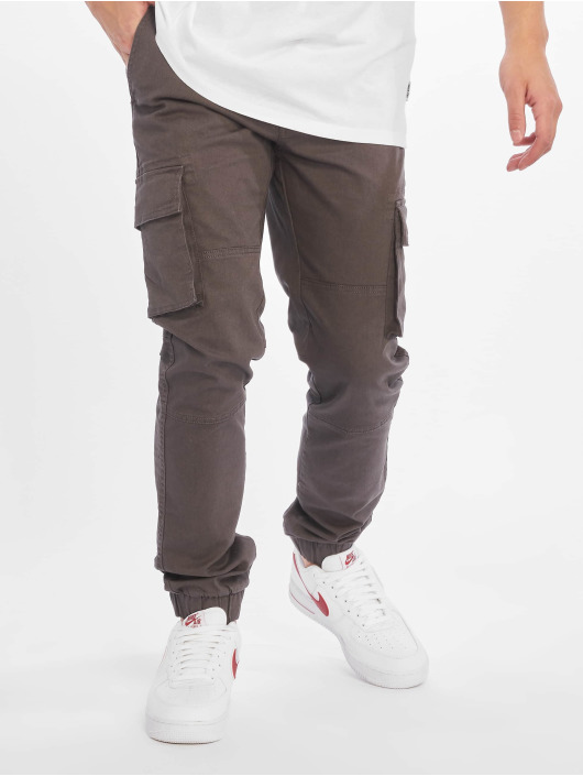 Only & Sons Cargo pants Onsstage Cuff Mj 1441 šedá