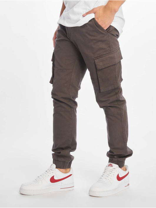 Only & Sons Cargobroek Onsstage Cuff Mj 1441 grijs