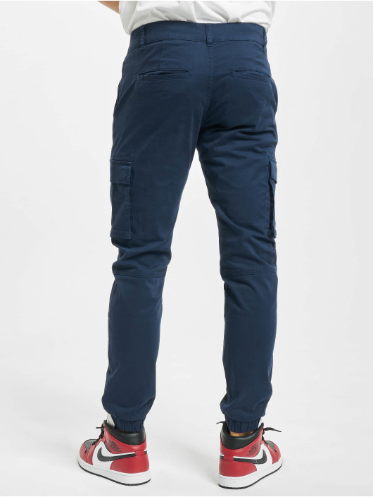 Only & Sons Cargohose onsCam Stage Cuff blau