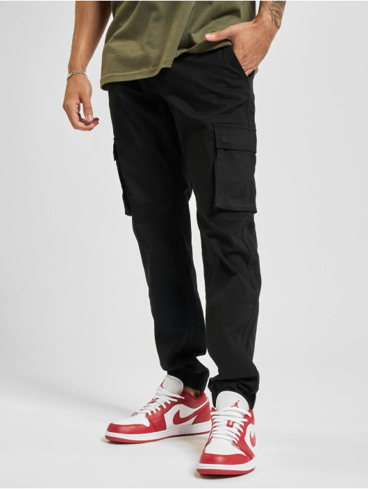 Only & Sons Cargohose Onscam Stage Cuff schwarz