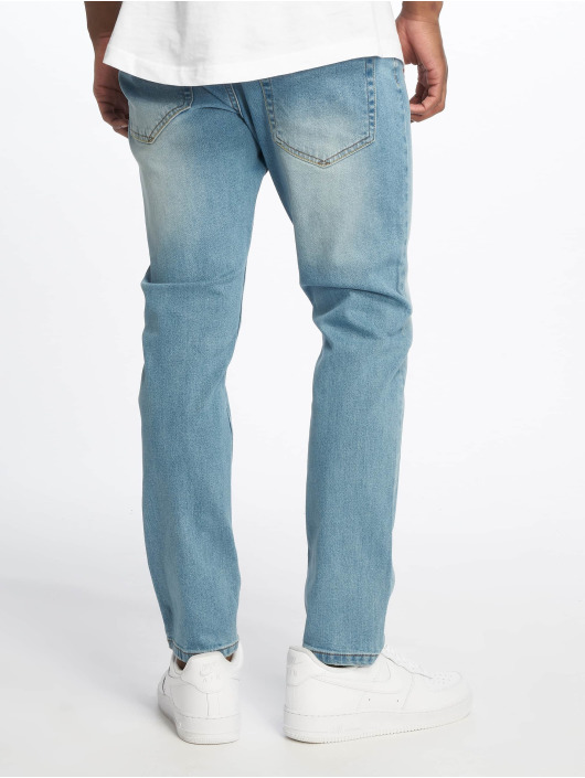 Only & Sons Carrot jeans onSavi Damage Blue Tapered blauw