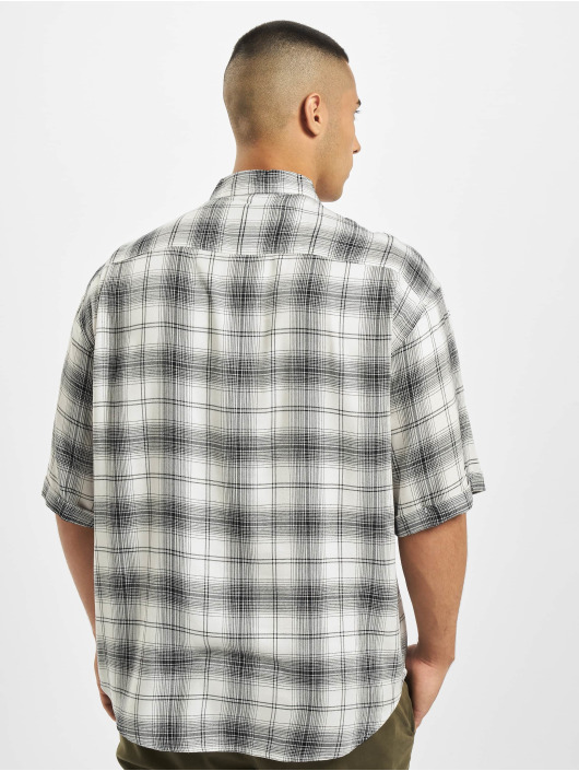 Only & Sons Chemise onsLogan Oversize Check Viscose blanc