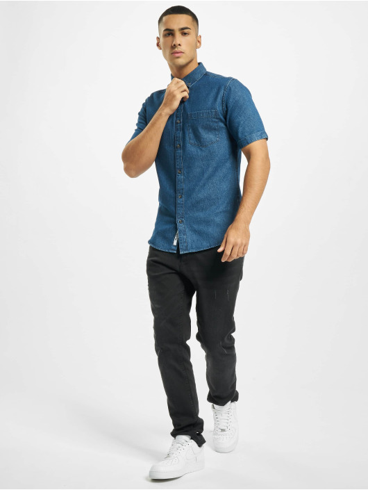 Only & Sons Chemise onsBasic Denim bleu