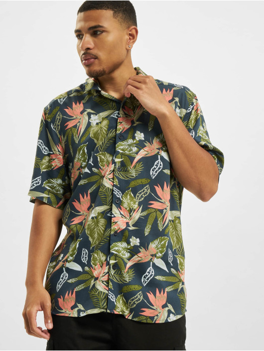 Only & Sons Chemise Ons Klopp Life Aop Viscose NOOS bleu