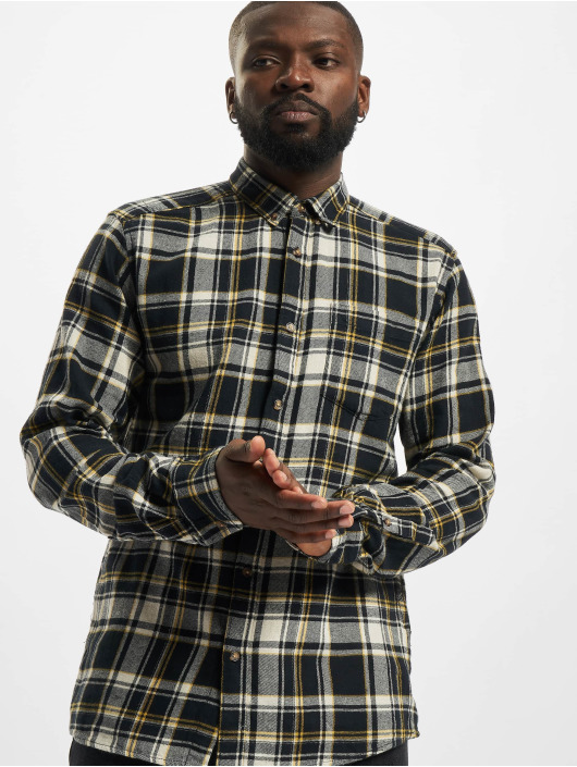 Only & Sons Chemise Onssimon Checked Flannel bleu