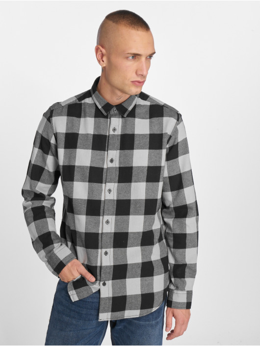 Only & Sons Chemise onsGudmund Checked gris