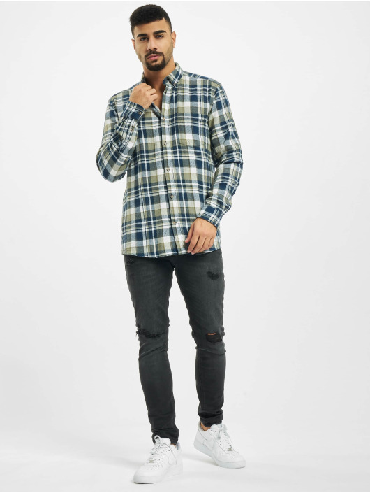 Only & Sons Chemise onsSimon Check Flannel gris