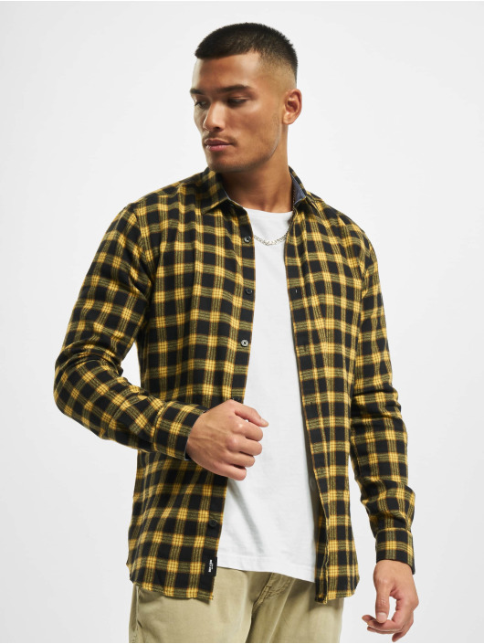 Only & Sons Chemise onsEmil Flannel Check jaune