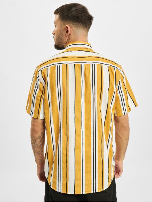 Only & Sons Chemise Ons Ketan Life Slub Stripe jaune