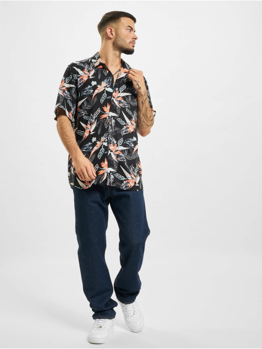 Only & Sons Chemise Ons Klopp Life  Aop Viscose NOOS noir