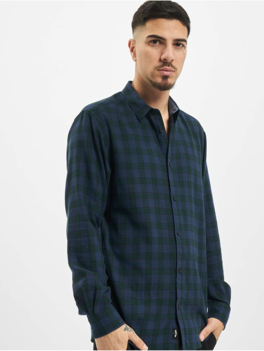 Only & Sons Chemise onsEmil Flannel Check vert