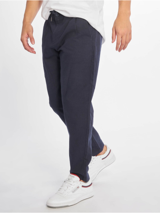 Only & Sons Chino onsLeo Linen Mix Noos blau