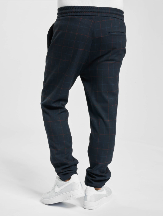 Only & Sons Chino onsLinus Long Check Do blue