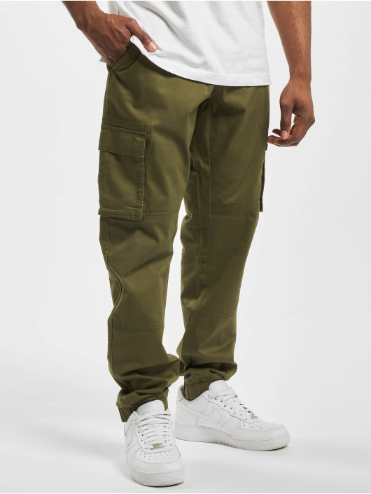 Only & Sons Chino bukser onsCam Stage Cargo oliven