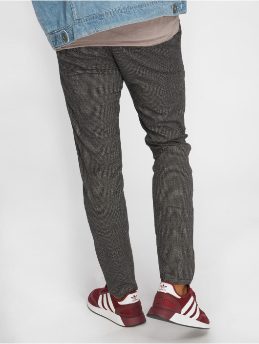 Only & Sons Chino pants onsMark Check Gw 1429 gray