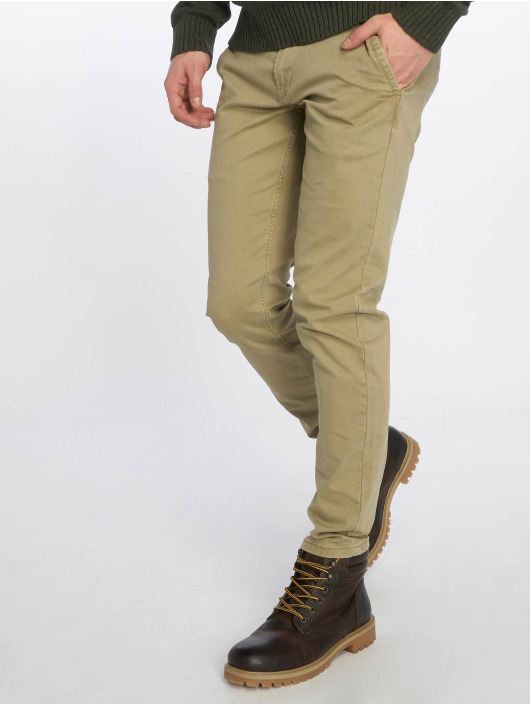 Only & Sons Chinot/Kangashousut onsTarp beige