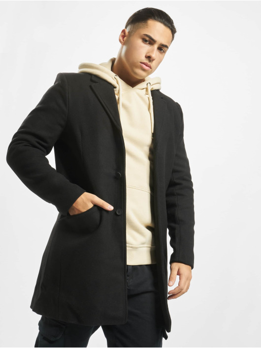 Only & Sons Coats onsJulian Solid Wool black