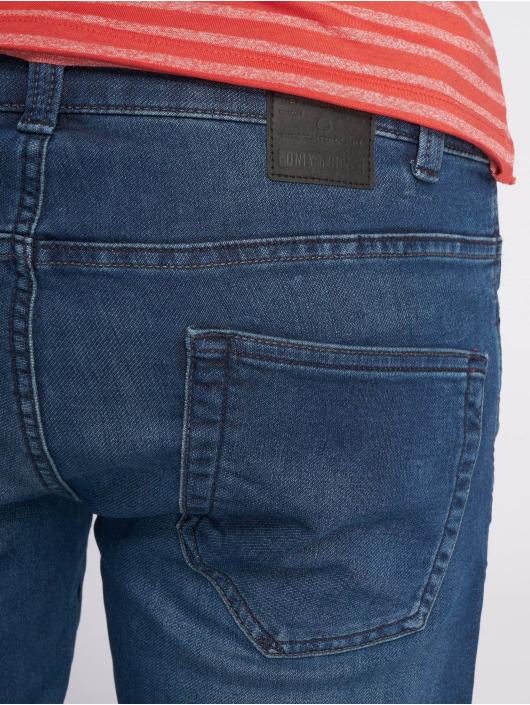 Only & Sons dżinsy przylegające onsLoom Jog Dk niebieski