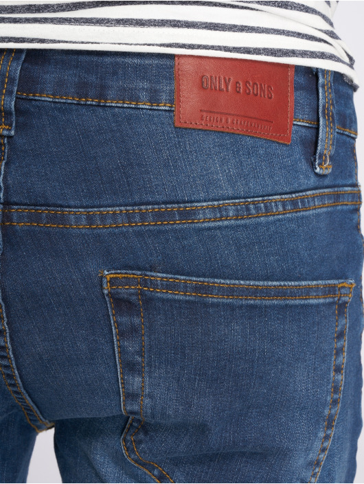 Only & Sons Dżinsy straight fit onsWeft niebieski