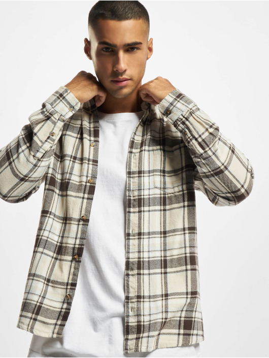 Only & Sons Hemd Onssimon Checked Flannel beige