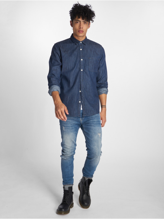 Only & Sons Hemd onsKade Basic blau