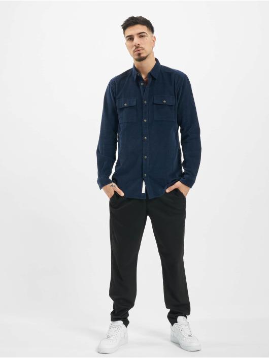 Only & Sons Hemd onsEdward Solid blau