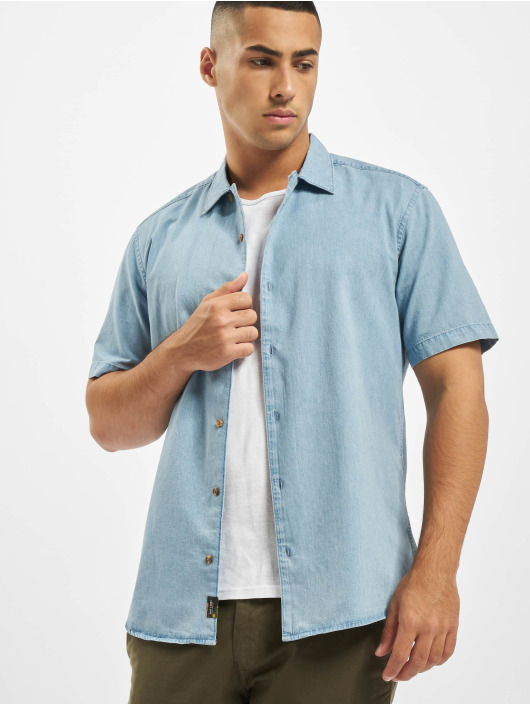 Only & Sons Hemd onsAugust Chambray blau