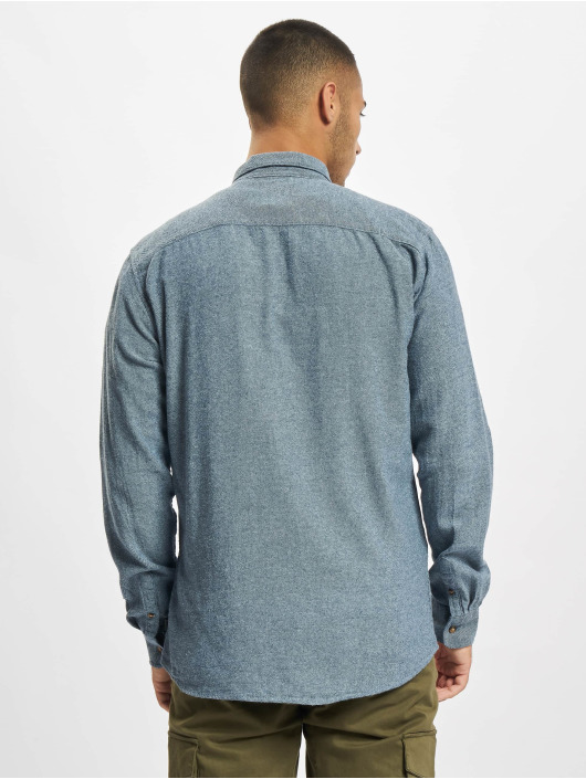 Only & Sons Hemd Onssimon Flannel blau