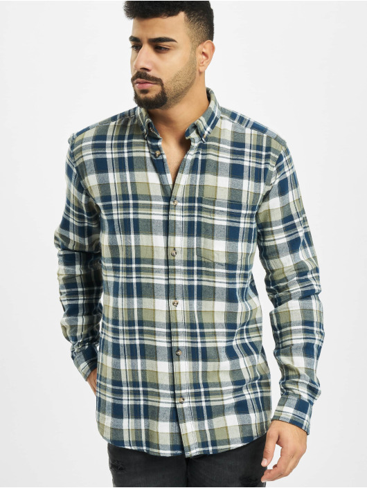 Only & Sons Hemd onsSimon Check Flannel grau