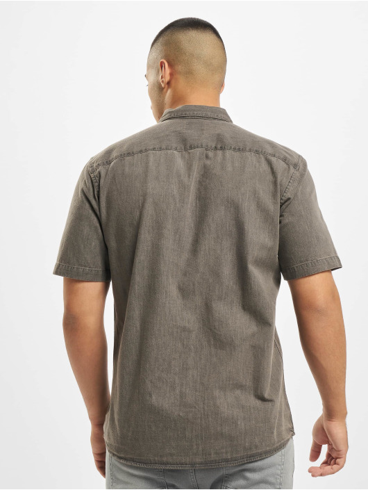 Only & Sons Hemd onsAugust Chambray grau