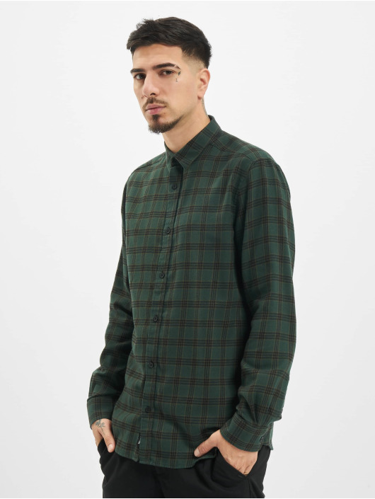 Only & Sons Hemd onsEmil Flannel Check olive