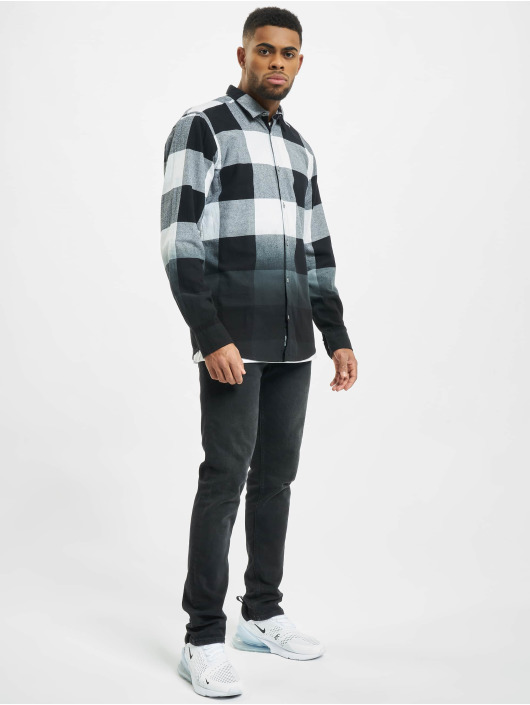 Only & Sons Hemd onsFreddy Dip Dye schwarz