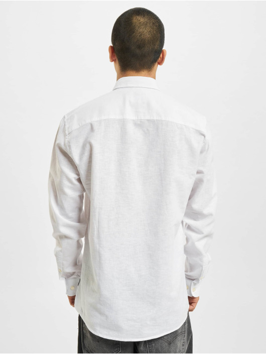 Only & Sons Hemd onsCaiden Solid Linen Noos weiß