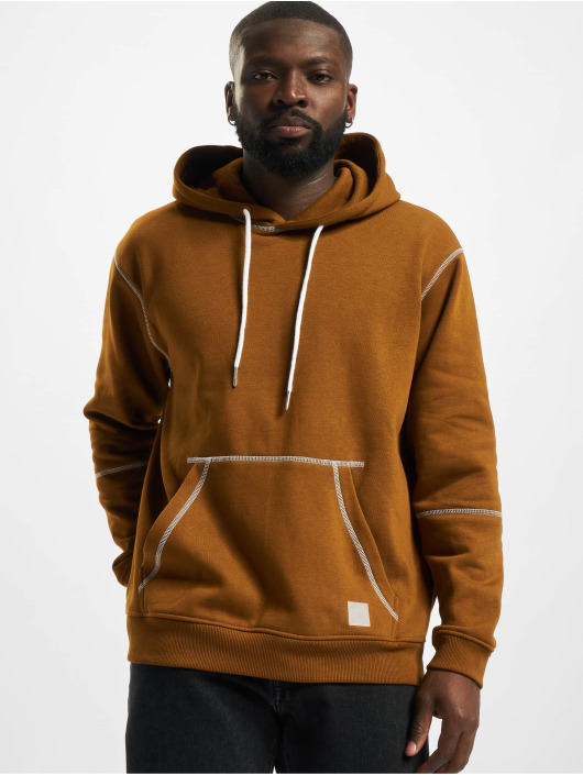 Only & Sons Hoodie Onsfletcher Stitch brown
