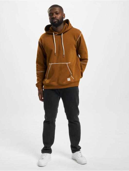 Only & Sons Hoodie Onsfletcher Stitch brun