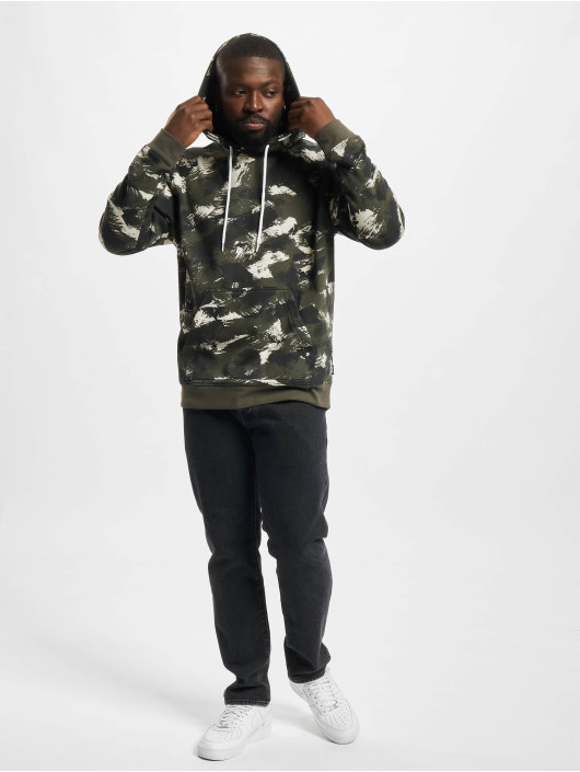 Only & Sons Hoodie Onsfisher Life Dropshld grön