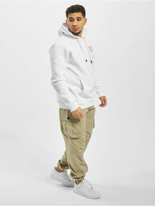 Only & Sons Hoodie onsBatik white
