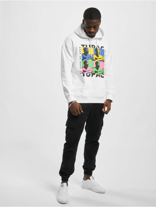 Only & Sons Hoodie onsTupac Life Oversize white