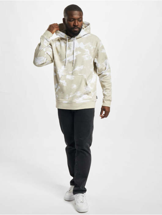 Only & Sons Hoodies Onsfisher Life Dropshld grå