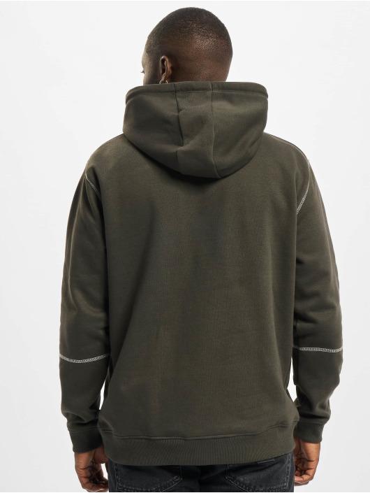 Only & Sons Hoodies Onsfletcher Stitch grå