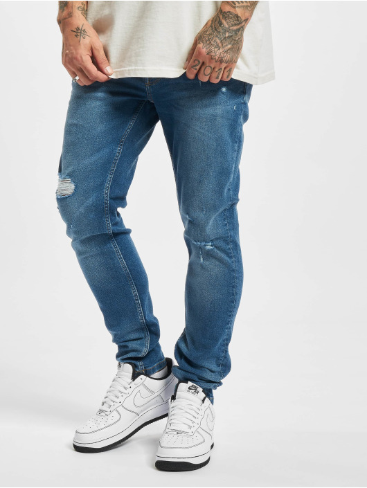 Only & Sons Jean skinny Onswarp Life Damage PK 9625 bleu